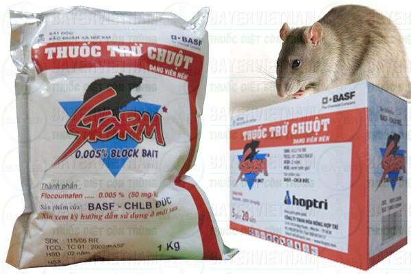 Cửa hàng thuốc diệt chuột ở TP Hồ Chí Minh