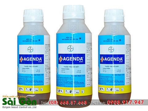 Tính chất của thuốc chống mối Agenda 25 EC